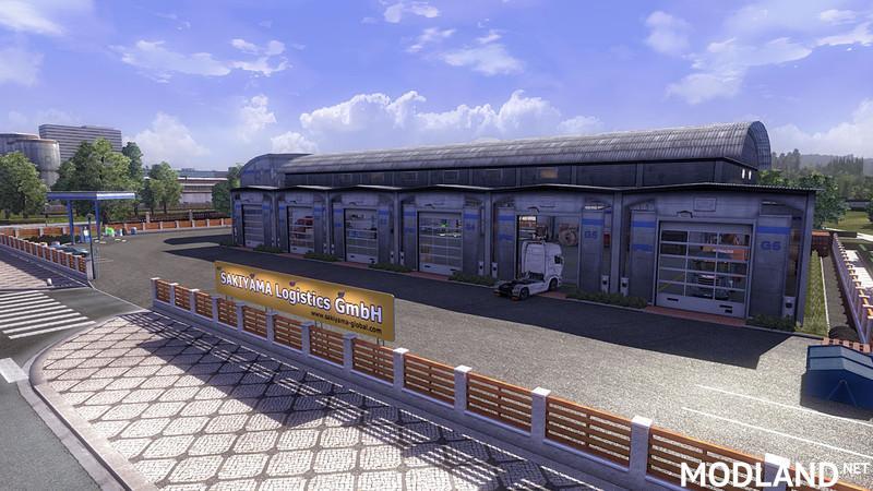 Custom Large Garage Type A Mod For Ets 2