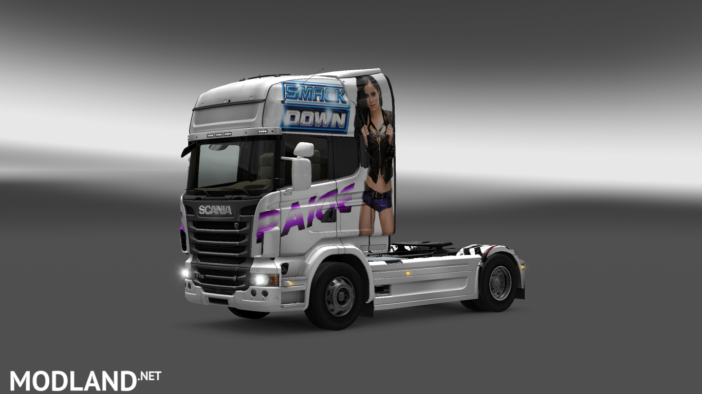 Scania R Series Skin mod for ETS 2