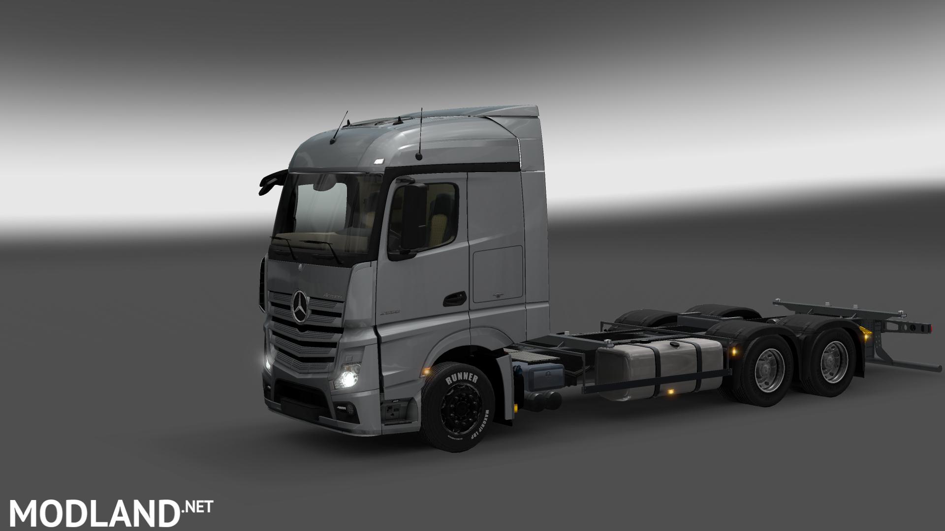 Mercedes Benz Actros Mp4 Rgd V 1 1 Trailer Mod For Ets 2
