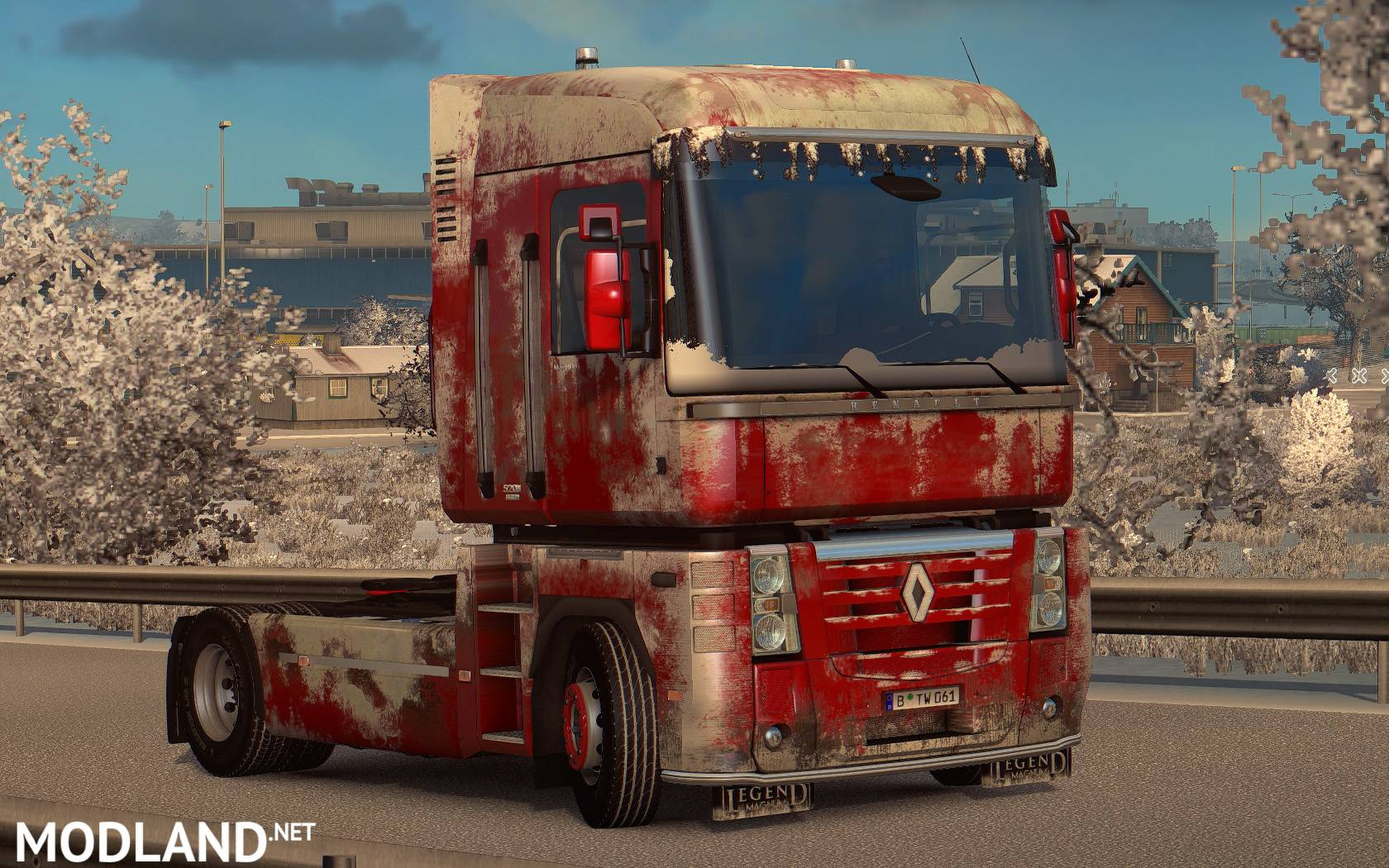 Volvo Vnl Accessories >> Snowy/Dirty Skin for Renault Magnum mod for ETS 2