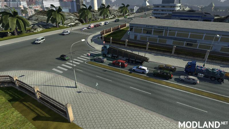 Henkis Traffic Mod v 4 7 mod for ETS 2