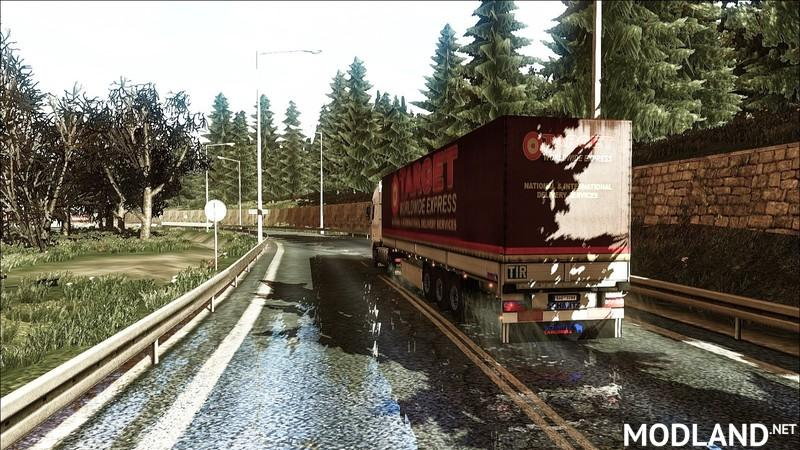 Improved Texture and Environment v 1.12.1 mod for ETS 2