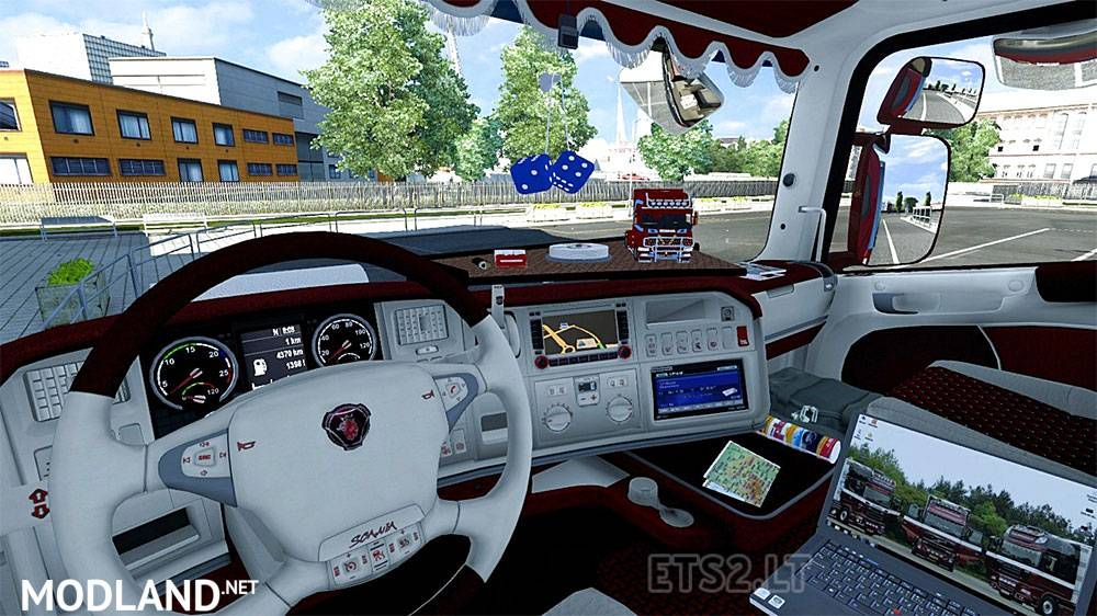 Scania R Interior Mod mod for ETS 2