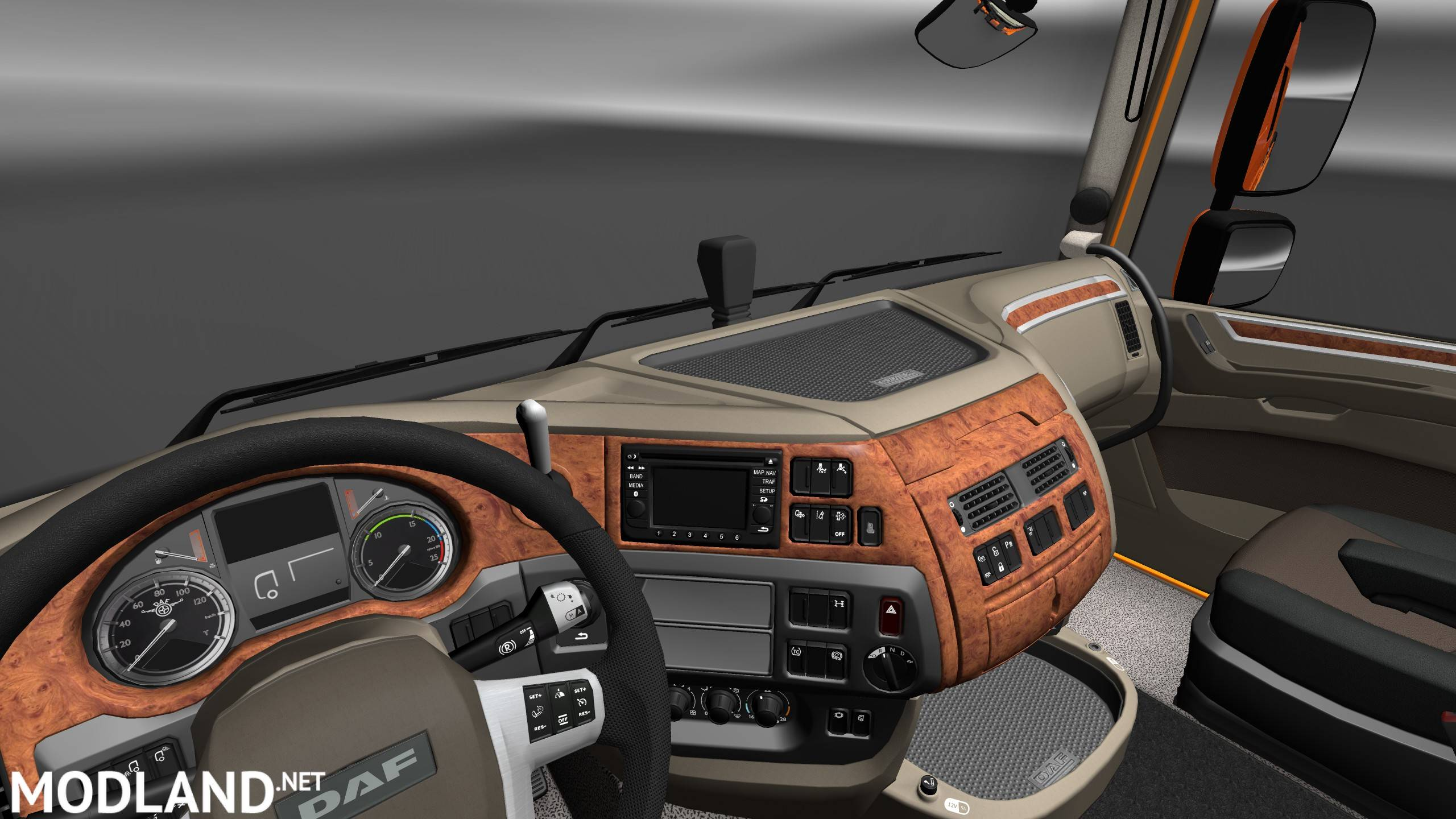 DAF XF 106 Interior/Exterior Rework mod for ETS 2