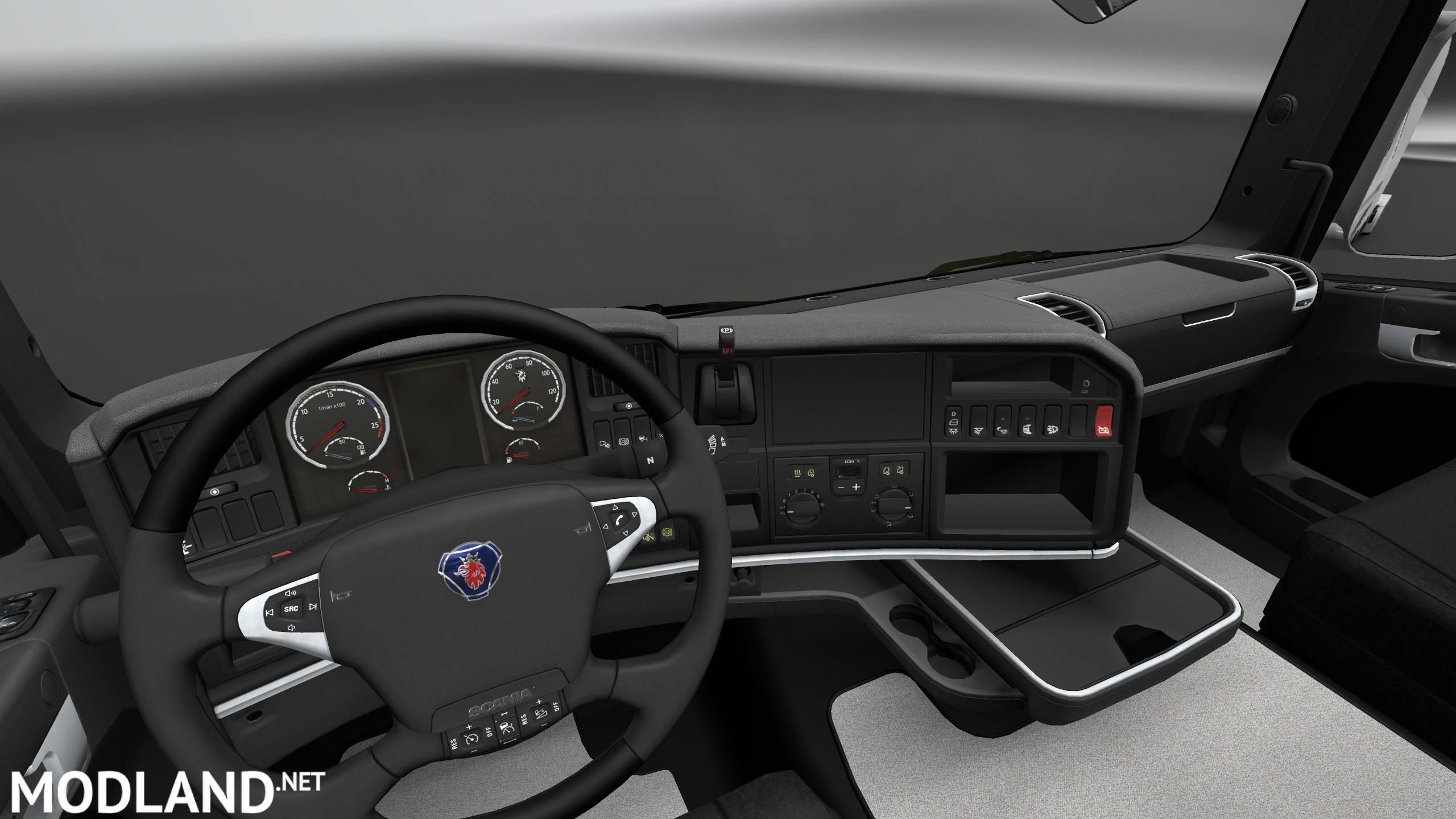 Scania R Interior Exterior Rework Mod For Ets 2