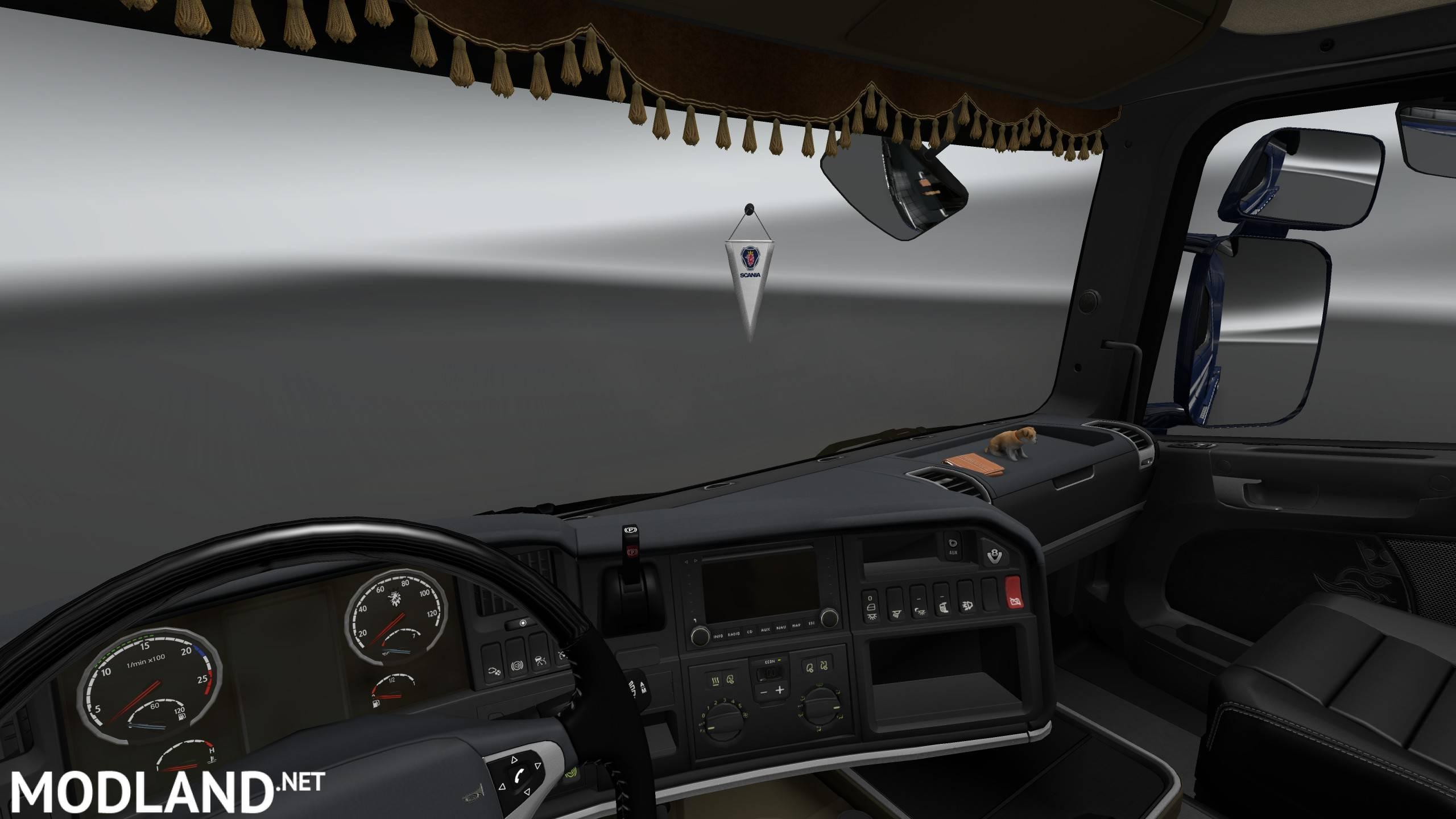 Rjl S Scania R Interior Exterior Rework Mod For Ets 2