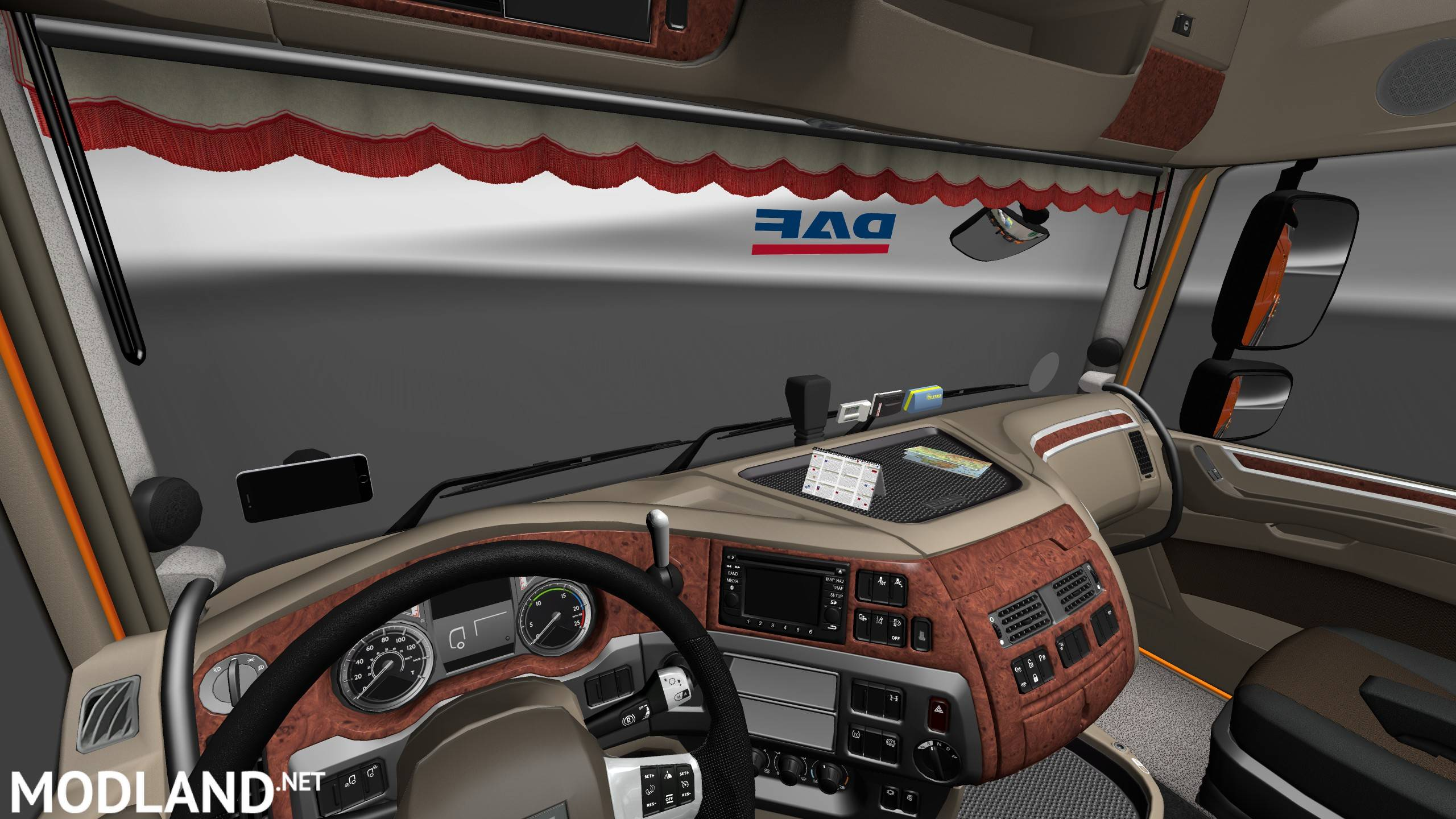 Daf Xf Euro 6 Interior Exterior Rework Ver 1 1 Ohaha S