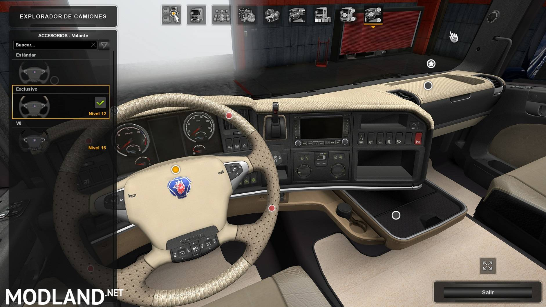 Interior For Scania Mod For Ets 2