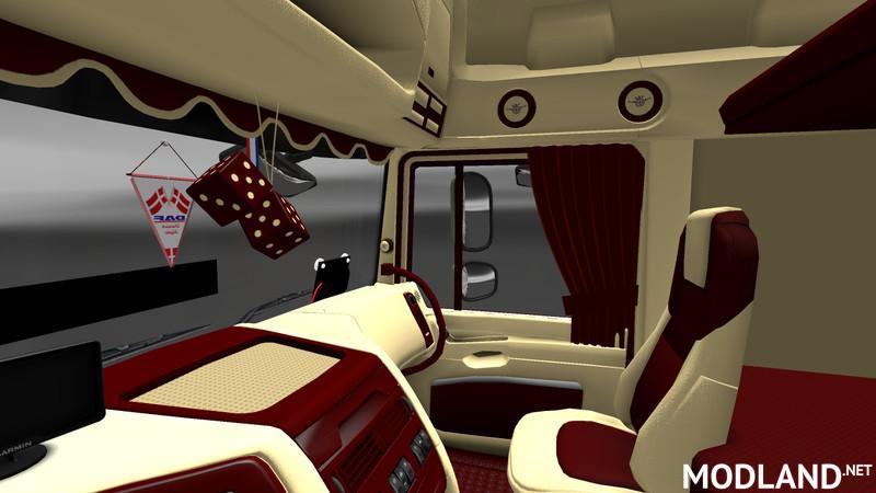 50k Daf Jetta Interior Styled v 1.0 mod for ETS 2