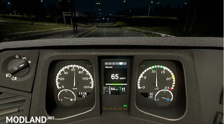 Mercedes Mp Iv Board Computer Mod For Ets 2