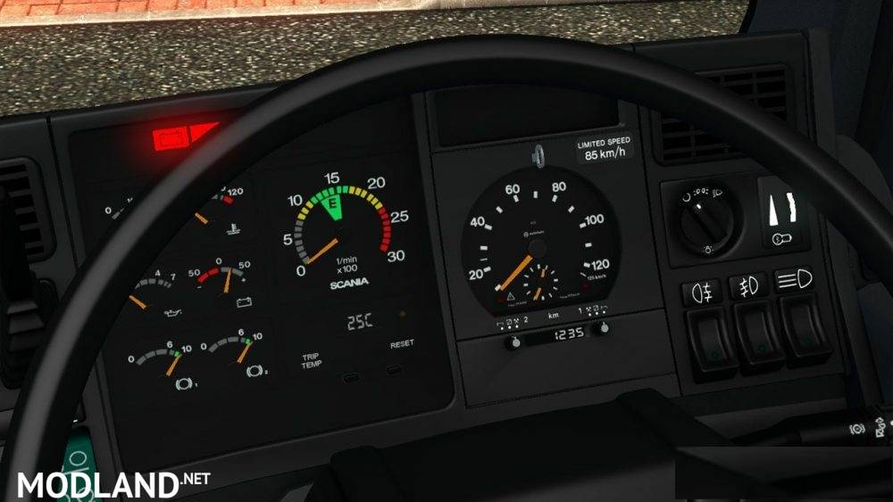 scania 4 series gauges mod for ets 2. Black Bedroom Furniture Sets. Home Design Ideas
