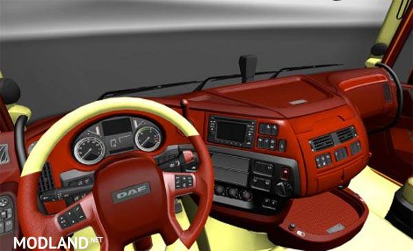 Daf euro6 exclusive interior mod for ets 2 for Daf euro 6 interieur