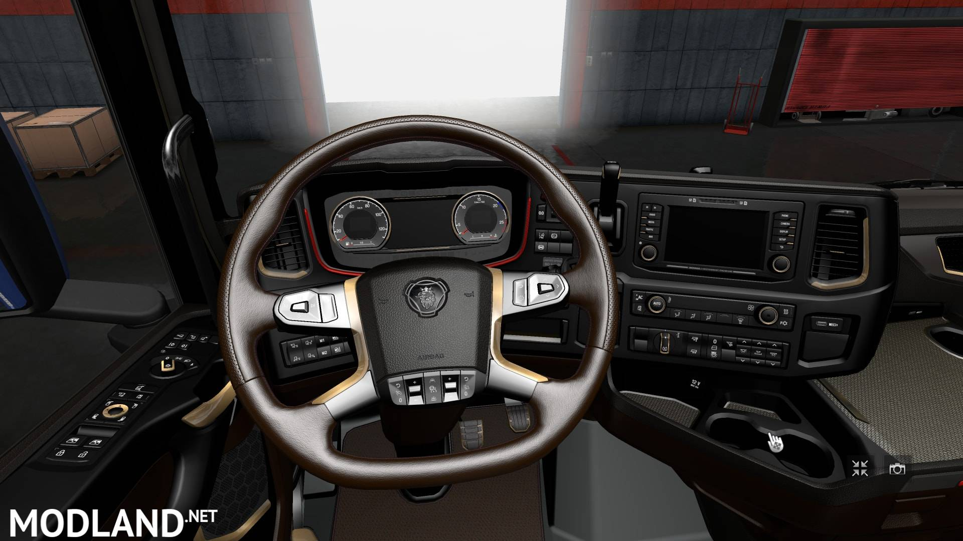The interior for scania 2016 v 3 0 mod for ets 2 for Interior design simulator free