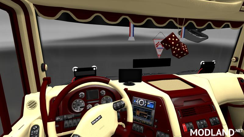 50k Daf Jetta Interior Styled