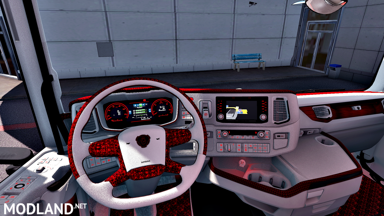 Holland interior Scania S/R  ETS 2