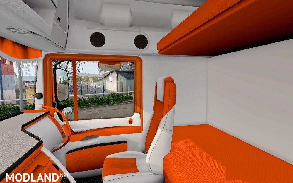 DAF Orange CMI Interior 1.28.x