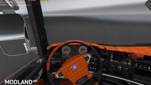 Scania Monocromo interior