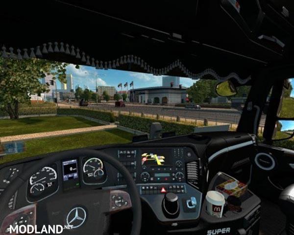 mercedes actros mp4 interior v 2 0 mod for ets 2