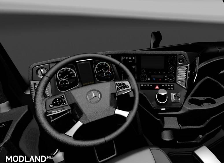 mercedes benz mp4 black interior mod for ets 2. Black Bedroom Furniture Sets. Home Design Ideas
