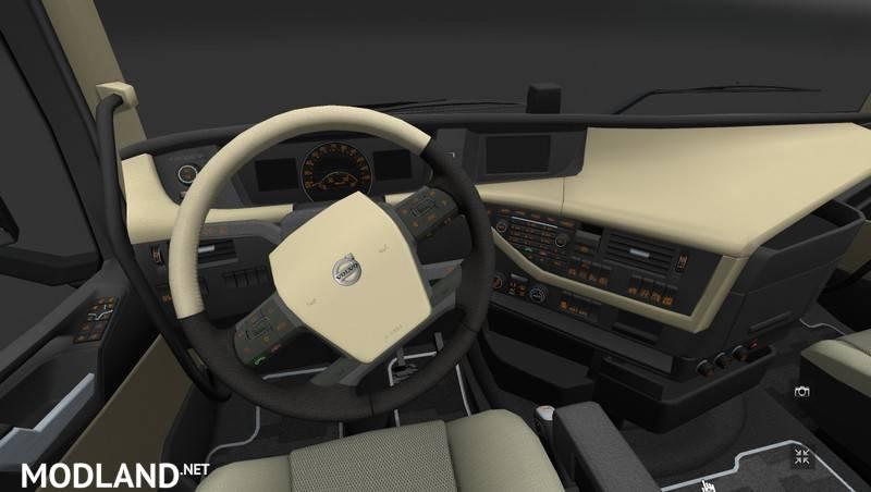 New Interior Lights for the Volvo FH16 2012 v1 0 mod for ETS 2
