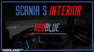 Scania S 2016 Interior (REDBLUE) v 1.0