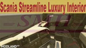 "Scania Streamline "" Brown - Cream "" Interior"