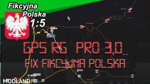 GPS RG PRO 3,0 Fix  Fikcyjna Polska