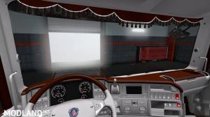 Scania RJL Brown White Interior TD