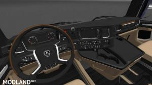 HD Interior for Scania S730