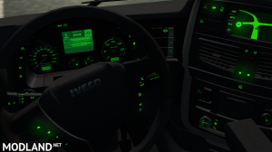 Iveco hiway green dashboard color