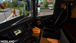 Scania Next Gen R&S Black - Yellow interior 1.35, 3 photo