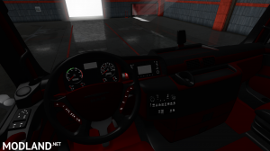 MAN TGX EURO 6 REDBLACK INTERIOR, 1 photo