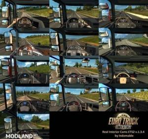 Real Interior Cams ETS2