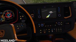 Scania Next Gen R&S Black - Yellow interior 1.35, 2 photo
