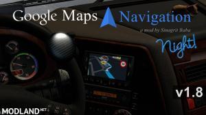 ETS 2 - Google Maps Navigation Night Version v 1.8, 1 photo