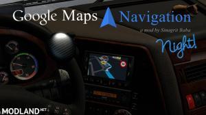 Google Maps Navigation Night Version v 1.9, 1 photo