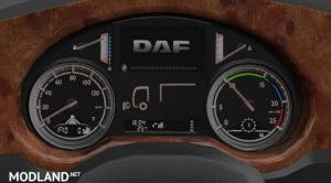 DAF XF Euro6 Board computer with own sounds 1.35.x, 1 photo