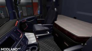 The interior for Scania 2016 v 2.0