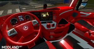 Red Interior for Mercedes MP4
