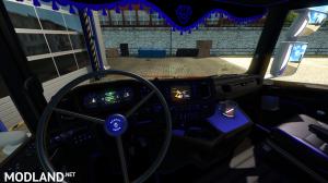 Carbon Blue Scania 2016 Interior, 1 photo