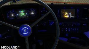 Carbon Blue Scania 2016 Interior, 3 photo