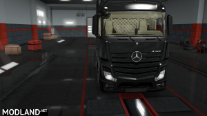 Mercedes Actros Low Cab Interior, 3 photo