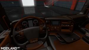 Scania RJL Lux Brown V8 Red-1.32.x 13.x beta