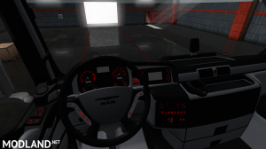 MAN TGX SCS EURO 6 BLUEBLACK INTERIOR, 1 photo