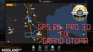 GPS RG  PRO 3,0 Fix Grand Utopia