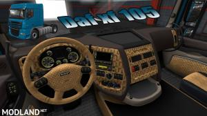 Daf xf 105 interior Exclusive+dashboard 1.36, 1 photo