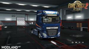Exterior view reworked for DAF XF euro 6 v 1.1
