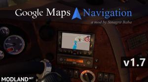 ETS 2 - Google Maps Navigation v 1.7