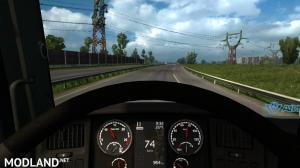 Scania Griffin Custom dashboard v1.2 1.35.x, 1 photo