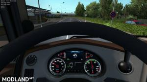 Custom dashboard for SCS DAF Euro 6 1.35.x, 1 photo